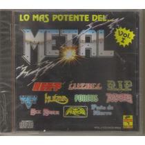 Lo Mas Potente Del Metal - Vol. 1 ( Metal Mexicano ) Cd Rock