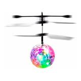 Pk Dron Bola Voladora Juguetes Led Sensor Niños Niñas H241