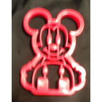 Cortador De Galletas 3 D Con Figura De Mickey Mouse