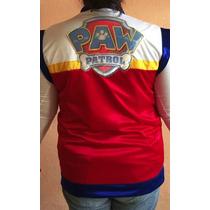 Chaleco Disfraz Adulto Jefe Rayder Paw Patrol Hombre Mujer