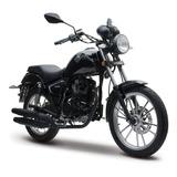 Moto Italika Rc200 Negra