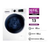 Lavasecadora Samsung Carga Frontal De 10.5 Kg Color Blanco