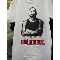 Playera Akil Ammar, Rap Hip Hop Anti Reggaeton Chinos