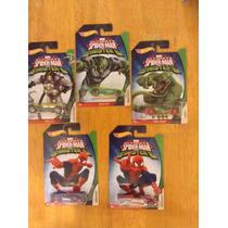 Set De Hot Wheels Ultimate Spiderman Completo 5 Carros 2016