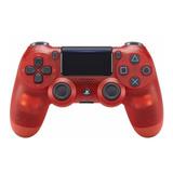 Control Joystick Sony Dualshock 4 Red Crystal