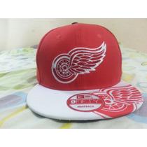 Gorra Hockey Nhl Detroit Redwings Snapback New Era