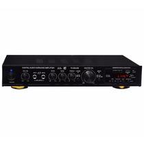Amplificador Profesional Con Entradas Usb,sd,mmc Y Radio Fm.