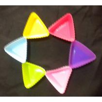 Molde De Silicón Para Cupcakes En Forma Triangular