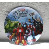 Fiesta Avengers Plato Melamina Como Recuerdo