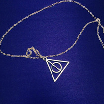 Harry Potter Collar + Pulsera + Aretes De Las Reliquias