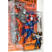 Siniestro Monster Armor X-men Marvel Comics Toybiz Baf Neca