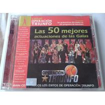 Operacion Triunfo España Las 50 Mejores Actuaciones 2 Cds
