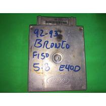 Ecm Ecu Pcm Cerebro Computadora Modulo 92-93 Bronco F150 5.8