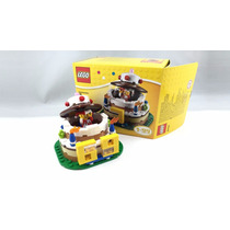 Lego 40153 Pastel Cumpleaños Aniversario Legobricksrfun
