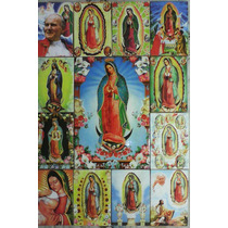 Virgen De Guadalupe En Azulejo Retablo