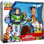 Toy Story Woody Y Buzz Amigos Interactivos Omm
