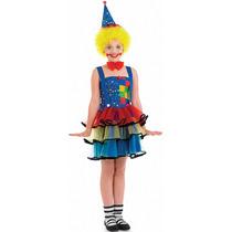 Traje Del Payaso - Niños Childrens Circo Fantasía Del Vest