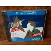 Balada. Vol. 37. Pistas Musicales. Cd.