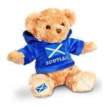 Escocia Soft Toy - Keel Toys 18cm Teddy Bear & Scottish