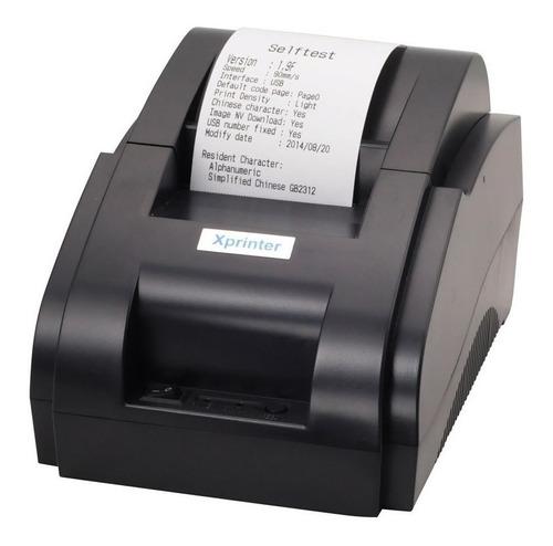 Impresora De Tickets Termica 58mm Usb Punto De Venta Pos Usb