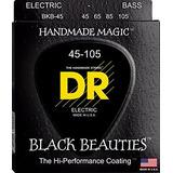 Dr Cuerdas 4 Bajo Negras Black Beauties  45 105  Bass