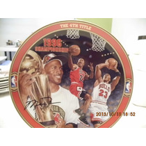 Michael Jordan Plato De Coleccion, The 4th Title Vv4