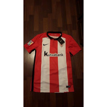 Jersey Nike Athletic Bilbao Lfp Espana 2015-16 Original