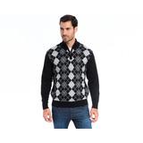Suéter Porto Sur Negro Pr-1674442