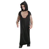 Decoración De Halloween - Niños Terror Negro Robe Grande -