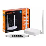 Tenda Router N301 Repetidor Inalambrico Wifi N300 3 Puertos