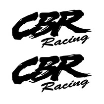 Sticker Motos - Calcomania - Vinil - Logo Cbr Racing