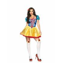 Disfraz Leg Avenue Blanca Nieves Para Carnaval O Fiesta