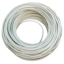 Cable Thw /90 #12 Blanco 100 Mts Argos.