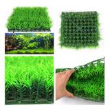Agua Artificial Acuática Verde Hierba Planta Césped Acuario