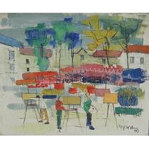 Tatiana Kopnina Pintura Rusa Oleo Artistas Plaza 1960
