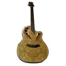 Guitarra Electroacústica Ovation Marca Rmc Color Natural