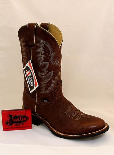 5f4f9360f6 Bota Vaquera Justin Boots Piel De Res Hidrofugada. Mod 6 en venta en ...