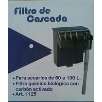 Filtro Cascada 60 A 100 Litros Peces Pecera Dulce/salada