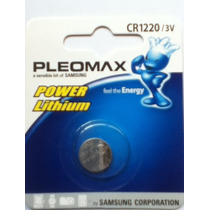 Pila Cr 1220 Samsung Pleomax Para Lap Top