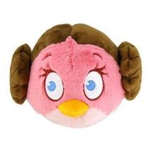 Angry Birds Star Wars Felpa Del Pájaro Princesa Leia 8 Pulga