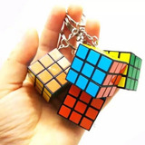 Pack 12 Cubos Rubik Mini 3x3 Llaveros 3cm