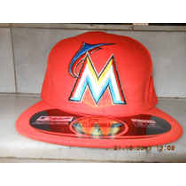 Gorra Miami Marlins Varias Tallas New Era Alterna