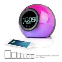 Ihome Ibt29bc Bluetooth Color Cambio De Alarma Dual Reloj