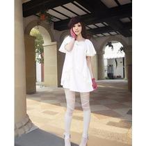 Mini Vestido Casual Dama Manga Corta Elegante Juvenil Bonito