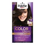 Tinte Palette Color Creme 4-0 Castaño Medio