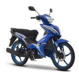 Moto Italika At110rt Azul Blanco