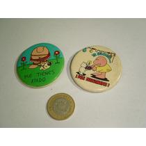 Botones Vintage De Ziggy 80