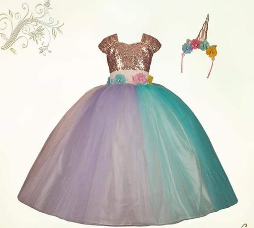 Vestido Unicornio Para Niña En Venta En Izucar De Matamoros