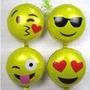 4 Globo Metalico Emoji Emoticones Caritas Whatsapp