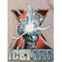 Playera Manga Larga Gris Vintage - Iceman - Talla Xg/40
